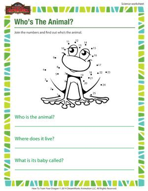 who s the animal 1st grade online science printables sod
