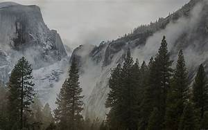 me59-yosemite-snow-dark-mountain-nature-wallpaper