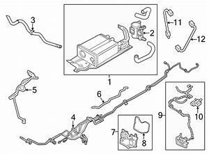 Lincoln Mkt Engine Crankcase Vent Valve  Separator