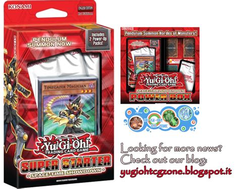 yugioh decks 2014 starter space time showdown pendulum starter deck