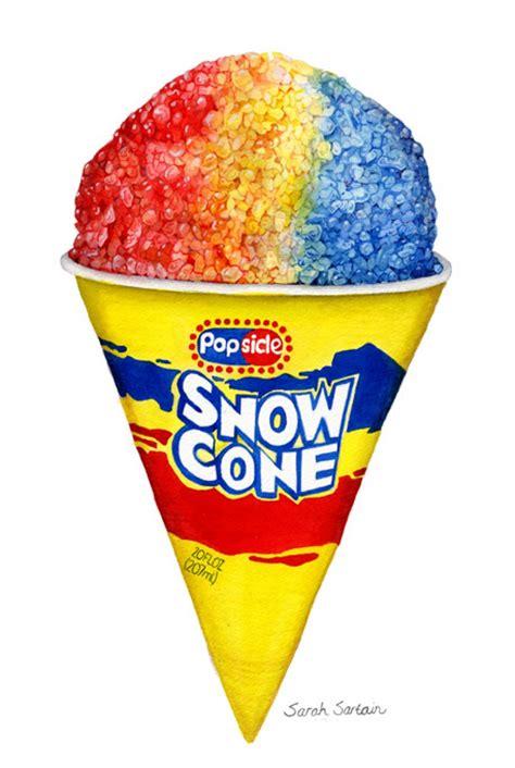 Snow Cone Clip Snow Cone Clipart Best