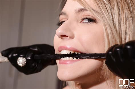 Danielle Maye And Chloe Toy Playing With Bondage Devices
