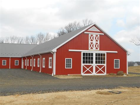 Custom Horse Barn And Indoor Arena