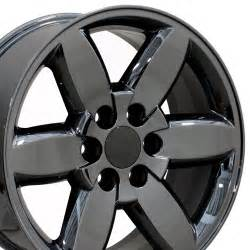 dodge dart payment 20 quot fits chevrolet yukon style wheel pvd black chrome 20x8