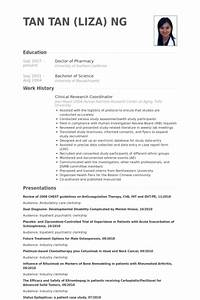 Clinical research coordinator resume samples visualcv for Clinical research resume sample
