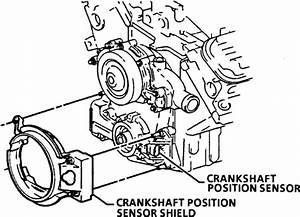 How Do You Change A Crank Shaft Sensor For A 1993