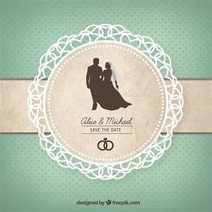 cute wedding card vector premium download With wedding cards pictures download