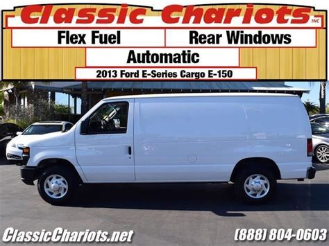 Used Cargo Van Near Me   2013 Ford E 150 Cargo Van with