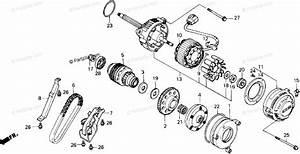 Honda Motorcycle 1987 Oem Parts Diagram For Alternator