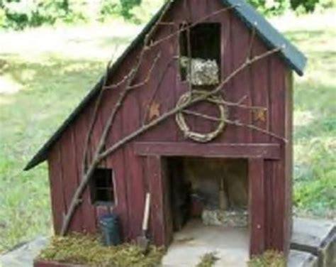 Primitive Birdhouse Americana