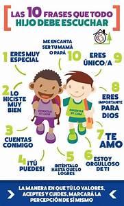 10 Frases que todo Niño debe Escuchar Infografía Blog de Gesvin