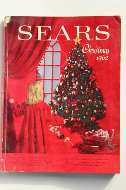 vintage sears christmas  book catalog  baby