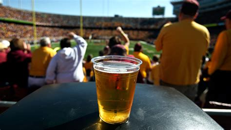 colleges turning  beer sales  stadiums  alternative