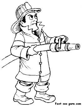 printable fireman sam coloring page  printable