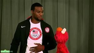 Sesame Street: Elmo and Team USA Olympic Boxer Marcus ...