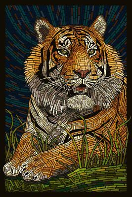 mosaic animals images  pinterest mosaic art