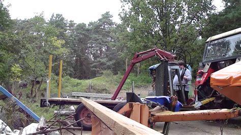 rückewagen mit kran mein meterholzwagen mit kran