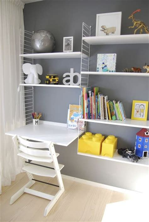 kids desk with shelves no room at home for an office 3 easy quot wall office quot setups