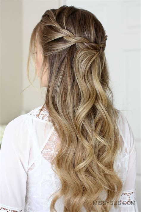 3 easy rope braid hairstyles festival pinterest