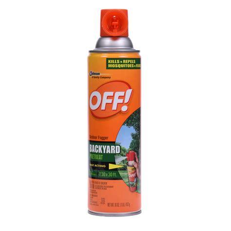 backyard mosquito spray 174 outdoor foggers sc johnson professional 1447