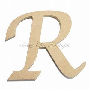 6quot 36quot inch unfinished wooden letter uppercase quotr With wood letter cutter