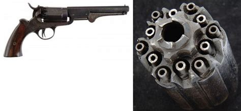 6-Chamber Revolver Can Fire 12 Rounds - Neatorama