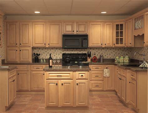 Natural Oak Kitchen Cabinets  Home Furniture Design