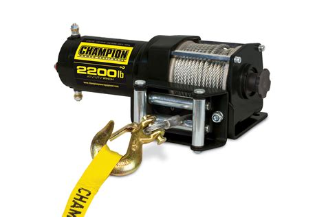 Sca Boat Winch Replacement Kit by Chion Power Equipment 100127 2200lb Atv Utv Winch Kit