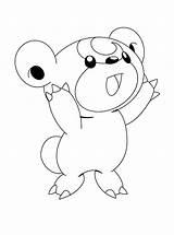 Pokemon Coloring Pages Characters Colouring sketch template