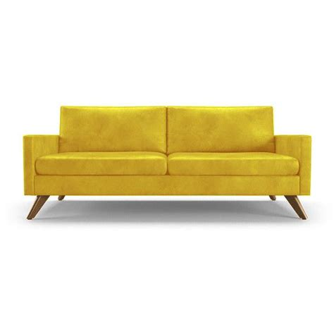 Yellow Leather Sofa And Loveseat by 1000 Ideas About Yellow Leather Sofas On