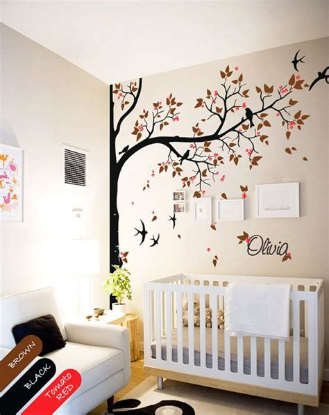 Kinderzimmer Wandgestaltung Baum by 25 Best Ideas About Tree Wall Murals On Wall