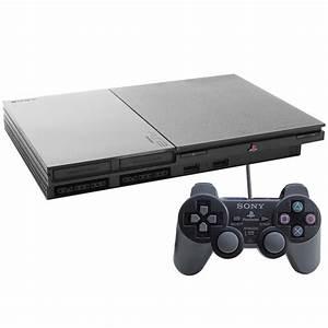 2 2 2 2 : console sony playstation 2 slim preto ps2 consoles playstation 2 no ~ Bigdaddyawards.com Haus und Dekorationen