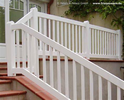 Treppengeländer Weiß Holz by Gel 228 Nder F 252 R Balkon Garten Und Terrasse Hartholz Weiss