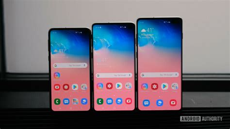 samsung galaxy s10 galaxy s10 plus galaxy s10e announced