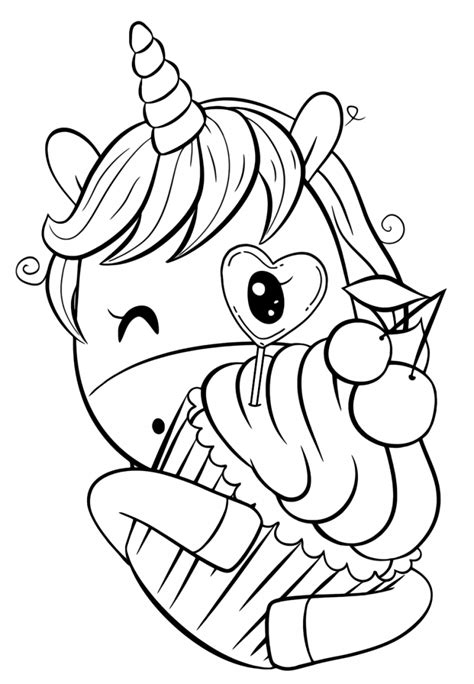 cute unicorns coloring pages coloring home