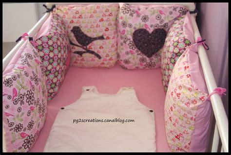 comment coudre un tour de lit pour bebe
