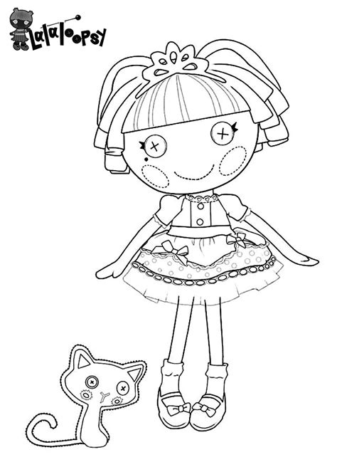 lalaloopsy coloring pages coloringpages