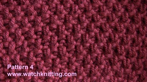knitting basics moss stitch free knitting tutorial watch knitting stitch 4 youtube