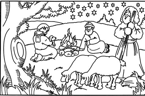 Bible Coloring Pages Kids