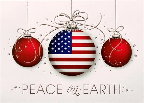 patriotic ornaments trio patriotic from cardsdirect