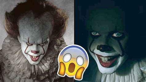 pennywise   creepy facial feature