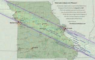 Missouri Times Solar Eclipse 2017 Path