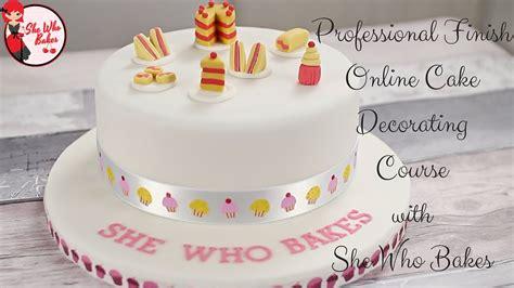 professional finish  cake decorating