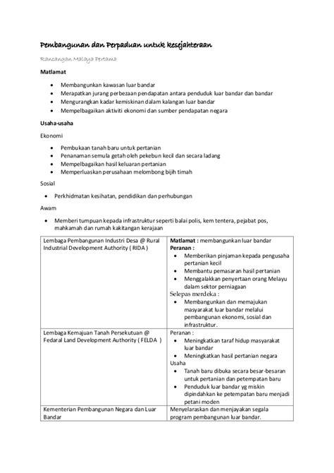 Sejarah Tingkatan 5 Bab 8 Nota