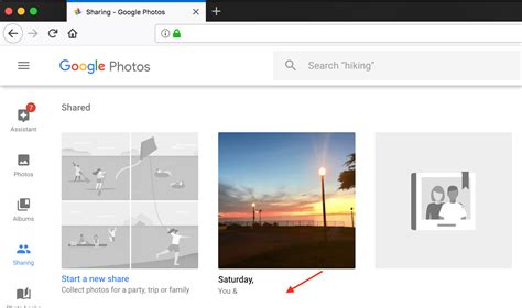 google album private drive shared albums un anything