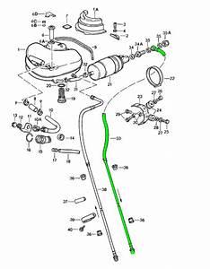 Porsche 911 Fuel Tank Pressure Return Line 91135606208