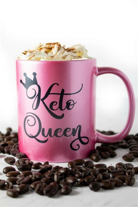 You really liked the addition of molasses, golden honey, and some warm spices. keto coffee in keto queen cup with whipped cream on top   Keto coffee recipe, Sugary coffee ...
