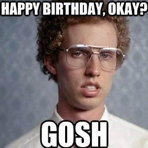 20 Funny Happy Birthday Memes | SayingImages.com