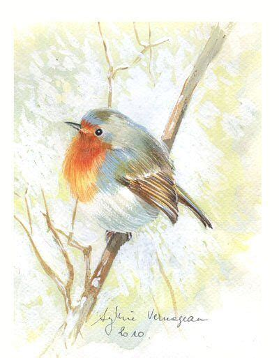gorge boule 10 robin birds painting