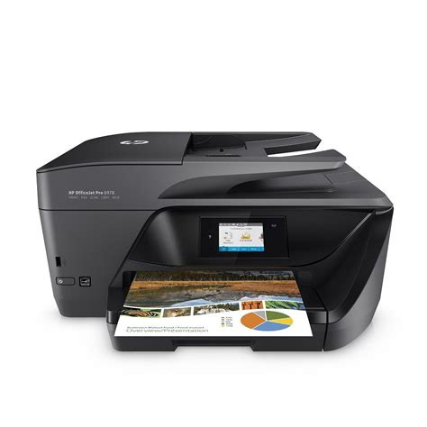 عرض على طابعة HP OfficeJet Pro 6978 اللاسلكية - عالم التقنية
